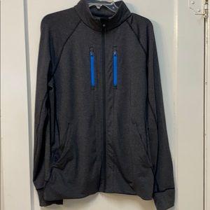 Lululemon Mens Large Charcoal Gray Jogger Jacket